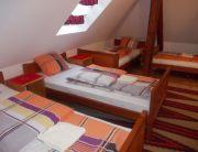tetőtéri 5 ágyas