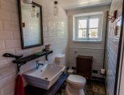 A Galériás apartman fürdőszobája