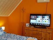 Apartman szoba pezsgőfürdővel, 3D-s Smart Tv-vel