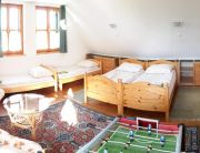 Emeleti 4 ágyas szoba