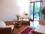 VIP lakosztály 2 főnek (nappali+hálószoba), erkély