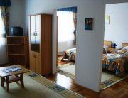 Lakosztály nappali és háló