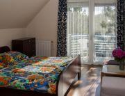 Apartman 4 vendég részére, franciaágyas szoba