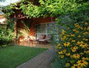Exkluzív apartman kert