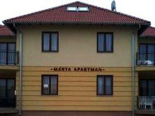 Márta Apartman szállás