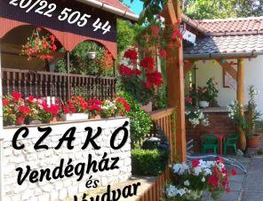 Czakó Vendégház és Nyaralóudvar Szilvásvárad szálláshely
