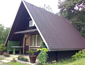 Egy faház a Pilisben Pilisszentkereszt szálláshely