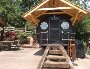 Egzotikus Kert 4 fős Óriáshordó Junior lakosztály balatonalmádi szálláshely