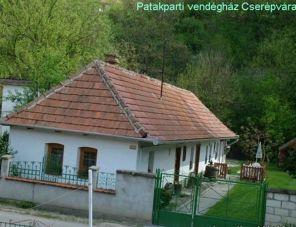 Patakparti Vendégház Cserépváralja szálláshely