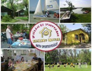 Smiling House Ifjúsági Tábor Balatongyörök szálláshely