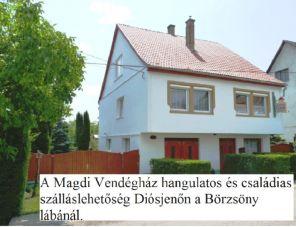 Magdi Vendégház profil képe - Diósjenő