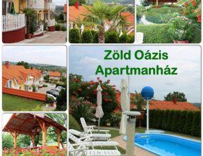 Zöld Oázis Apartmanház profil képe - Hévíz